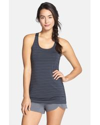 Brooks | Black 'go-to' Racerback Tank | Lyst