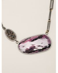 Kelly Wearstler | Purple 'sunset' Pendant Necklace | Lyst