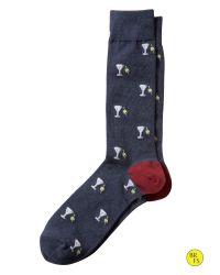 Banana Republic - Black Factory Martini Sock for Men - Lyst