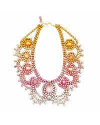 Doloris Petunia | Multicolor Exclusive Malibu Statement Necklace | Lyst