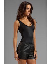 AQ/AQ Sydney Bodysuit in Black - Lyst