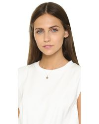 Alison Lou | Metallic Tongue Out Small Necklace | Lyst