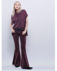 Free People | Purple Tatiana Pullover | Lyst