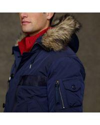 Polo Ralph Lauren Blue Holter Bomber Jacket for men