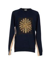 Dries Van Noten - Blue Sweatshirt for Men - Lyst