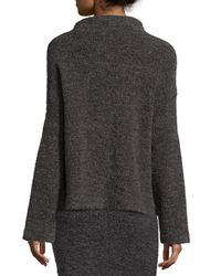 Elizabeth and James - Gray Kirk Funnel-neck Sweater - Lyst