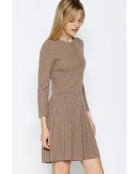Joie - Brown Peronne Sweater Dress - Lyst