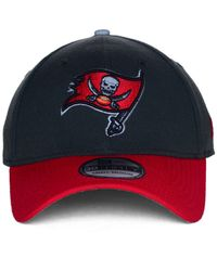 KTZ - Red Tampa Bay Buccaneers On Field Reflective 39Thirty Cap for Men - Lyst