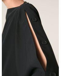 MM6 by Maison Martin Margiela - Black Loose Fit Dress - Lyst