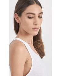 Loren Stewart - Metallic Small Diamond Rods - Lyst