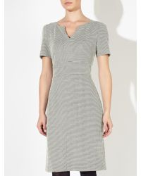 John Lewis Gray Jolie Herringbone Dress