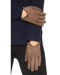 Rag & Bone - Brown Moto Gloves - Black - Lyst