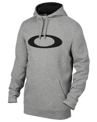 Oakley Gray Dwr Cotton Blend Sweatshirt for men