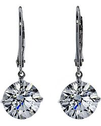 Carat* - Multicolor Euroback 2ct Round Drop Earrings - Lyst