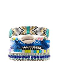 Hipanema | Blue Glow In The Dark Bracelet | Lyst