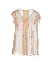 INTROPIA - Natural Blouse - Lyst