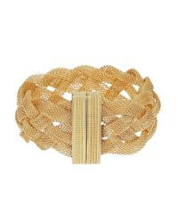 Catherine Stein | Metallic Mesh Braided Bracelet | Lyst