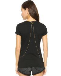 Gorjana Metallic Nina Body Chain - Gold Matte