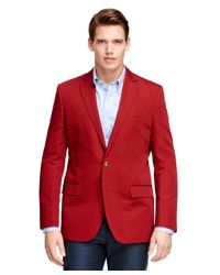 Brooks Brothers | Red Fitzgerald Fit Two-button Sport Coat for Men | Lyst