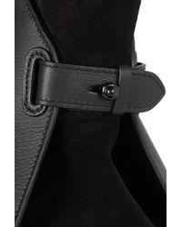 Nina Ricci Black Marche Medium Leather Tote