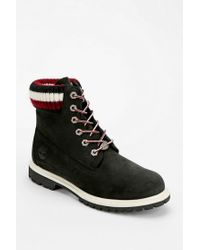 Urban Outfitters | Black Timberland X Uo Sweaterlined Ankle Boot | Lyst