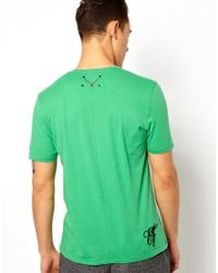 Elvis Jesus | Green Tshirt Trenchtown for Men | Lyst