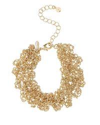 Coast | Metallic Sparkle Chain Bracelet | Lyst