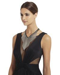 BCBGMAXAZRIA - Metallic Braid And Fringe Necklace - Lyst