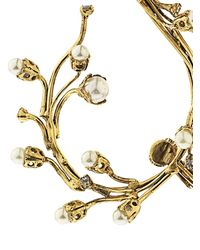 Erickson Beamon Metallic Stratosphere Faux-Pearl & Crystal Ear Cuffs