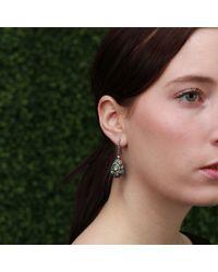 Arunashi - Multicolor Black Opal Egg Drop Earrings - Lyst