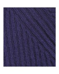 Bottega Veneta - Blue Indigo Cashmere Sweater - Lyst