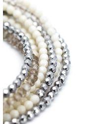 Brunello Cucinelli - White Pearl Necklace - Lyst