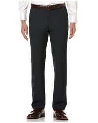Perry Ellis | Gray Men's Regular Fit Pants for Men | Lyst