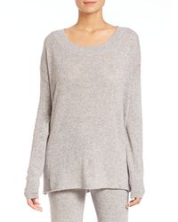 Hanro | Gray Lilou Drop-shoulder Sweater | Lyst