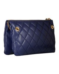 Love Moschino | Blue I Love Superquilted Evening Crossbody Bag | Lyst