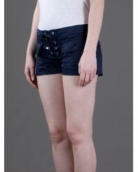 Dondup Blue Combat Shorts