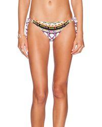 Trina Turk - White Baja Bikini Bottoms - Lyst