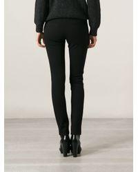 IRO - Black 'Arlyn' Skinny Trousers - Lyst