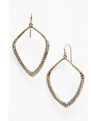 Alexis Bittar | Metallic 'miss Havisham' Large Open Kite Earrings | Lyst