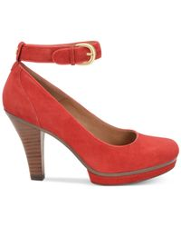 Söfft | Red Manhattan Pumps | Lyst