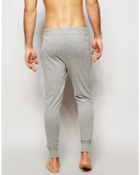 Jack & Jones | Gray Joggers With Cuffed Ankle In Slim Fit for Men | Lyst