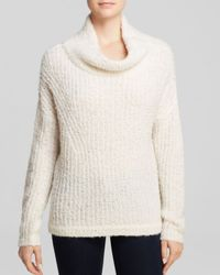 French Connection White Sweater - Bloomingdale's Exclusive Fuzzy