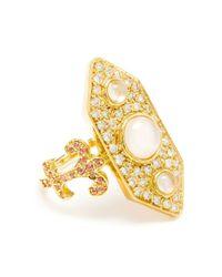 Sabine G | Metallic 'Calixte' Ring | Lyst