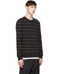 T By Alexander Wang - Black Scribble Sweatshirt for Men - Lyst