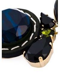 Marni   Blue Embellished Necklace   Lyst