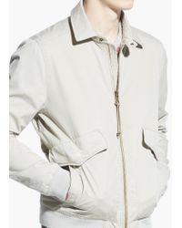 Mango Natural Cotton Canvas Jacket for men