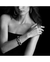David Yurman - Metallic Midnight Mélange Link Bracelet With Diamonds - Lyst