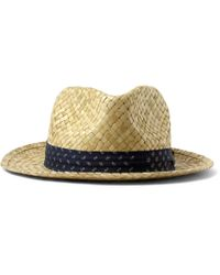Paul Smith - Natural Woven Straw Hat for Men - Lyst