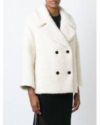 D.Efect - Natural Niles Wool and Alpaca-Blend Peacoat - Lyst