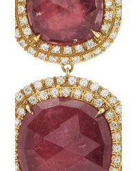 Marco Bicego | Pink Tourmaline Jaipur Sunset Drop Earrings With Diamonds | Lyst